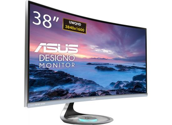"ASUS Designo Curve MX38VC 38"" IPS 4K Eye Care with Qi Charging"