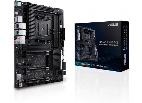 ASUS PRO WS X570-ACE Workstation w/ Dual M.2 & Control Center Express