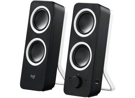 Logitech Multimedia Speakers Z200 Stereo Sound for Multiple Devices