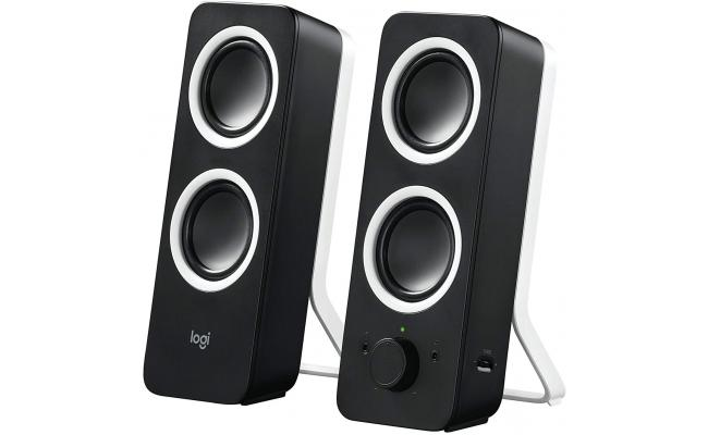 Logitech Multimedia Speakers Z200 Stereo Sound for Multiple Devices