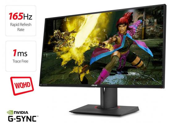 "ASUS ROG PG278QE 27"" 2K 165Hz G-SYNC Gaming Monitor"
