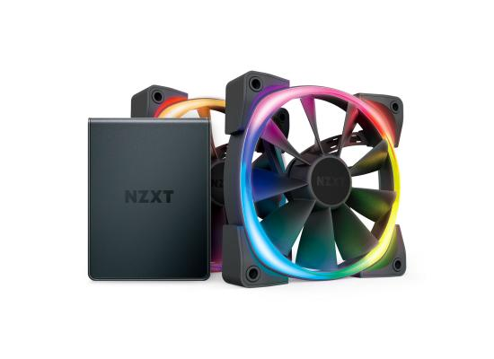 NZXT 120mm Aer RGB 2 Premium PWM Fan Twin Pack w/ Hue 2