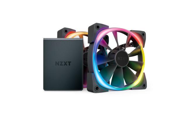 NZXT 120mm Aer RGB 2 Premium PWM Fan Twin Pack w/ Hue 2