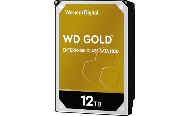 WD Gold 12TB Enterprise Class HDD 7200 RPM 256 MB Cache