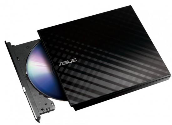 Asus Lite USB Portable DVD Rewriter Drive - Black