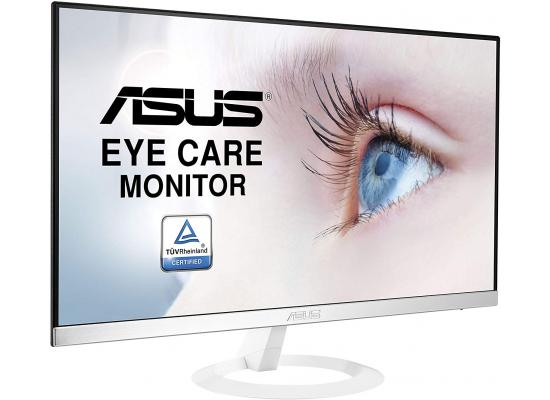 "ASUS VZ249HE-W 24"" Ultra-Slim Bezel IPS Monitor - White"