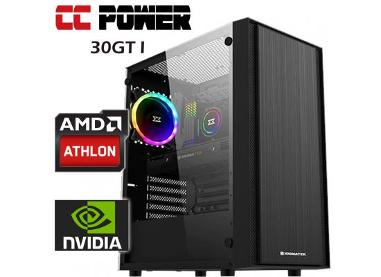 CC Power 30GT I Gaming PC AMD Athlon 200GE  w/ GT 1030