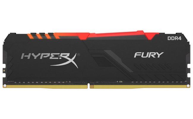 HyperX Fury 16GB RGB 3733 MHz DDR4 Memory