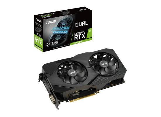 ASUS  GeForce RTX 2060 SUPER 8GB DUAL EVO V2 OC Edition