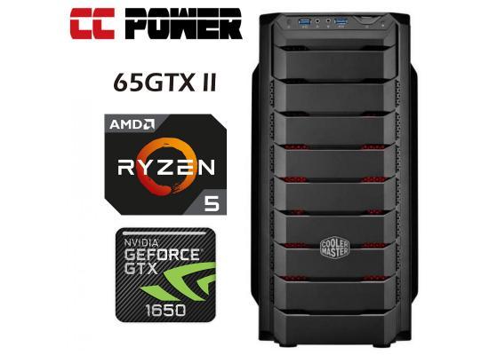 CC Power 65GTX II Gaming PC Ryzen 5 2600 w/ GTX 1650 D6