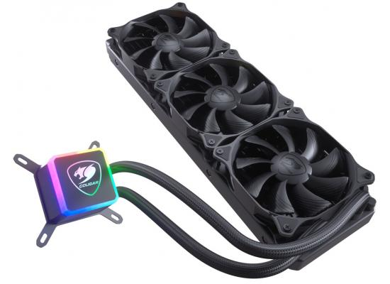 Cougar Aqua 360 CPU Liquid Cooler W/ RGB LED Pump & Remote