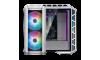 MasterCase H500P Mesh White  w/ 2 x 200mm ARGB Fans