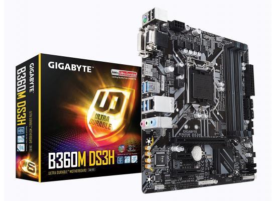 GIGABYTE B365M DS3H Intel B365 Micro ATX Intel Motherboard