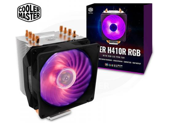 Cooler Master Hyper H410R RGB 92mm Red LED PWM Fan