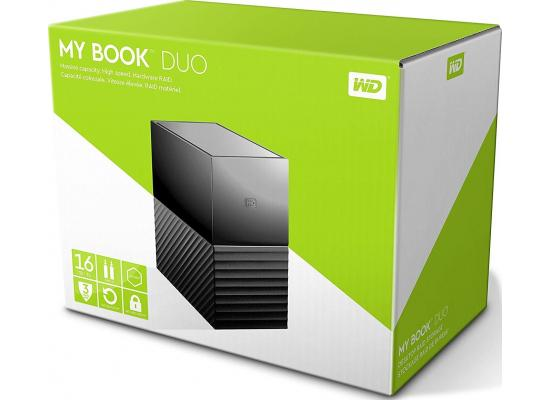 WD 16TB My Book Duo Desktop RAID External HDD - USB 3.1