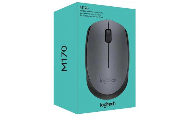 Logitech M170 Wireless Mouse USB Receiver & 12M Battery Life