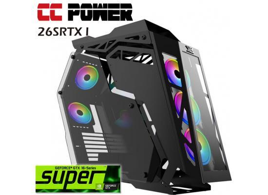 CC Power 26SRTX I Gaming PC 9Gen Core i5 K Series w/ RTX 2060 SUPER