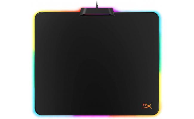 HyperX FURY Ultra 360° RGB Lighting Gaming Mouse Pad - Medium