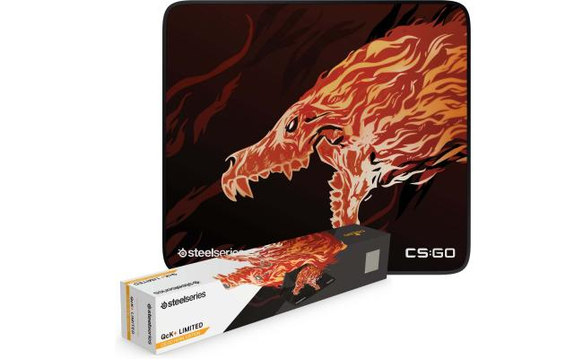 SteelSeries QcK+ 63403 Howl Large Gaming Mouse Pad