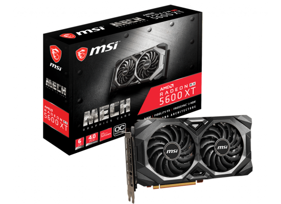 MSI Gaming Radeon RX 5600 XT 6GB GDDR6 MECH OC