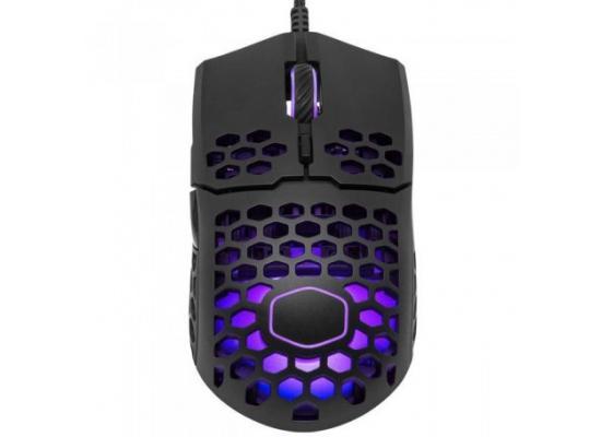 Cooler Master MM710 Matte Black 53G w/Lightweight Honeycomb Shell