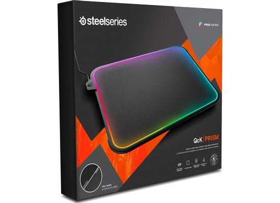 SteelSeries 63391 QcK Prism RGB Mousepad with Gamesense