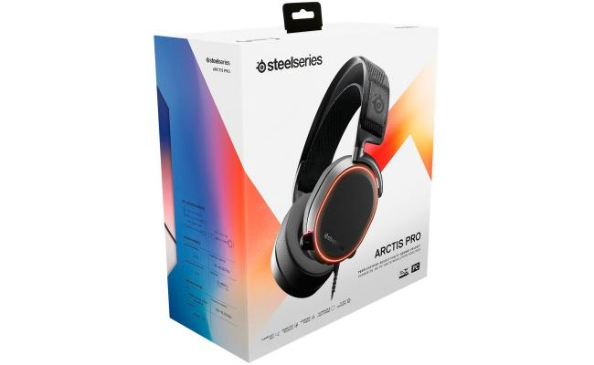 SteelSeries Arctis Pro High Fidelity Gaming Headset For PC, Black