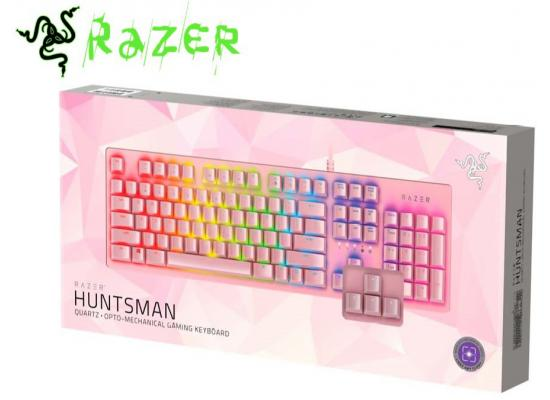 Razer Huntsman Gaming Keyboard Quartz Pink
