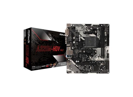 ASRock AMD Ryzen A320M HDV R4.0 Micro ATX Motherboard