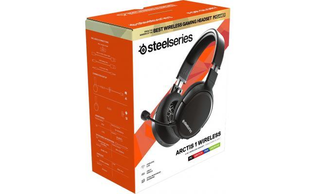 SteelSeries Arctis 1 Wireless Headset USB-C PC & Multi-Platform – Black