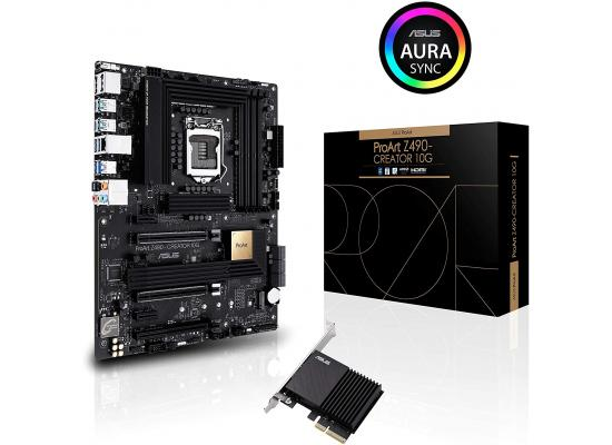 ASUS ProART Z490-CREATOR Intel Z490 10G LAN & Thunderbolt 3