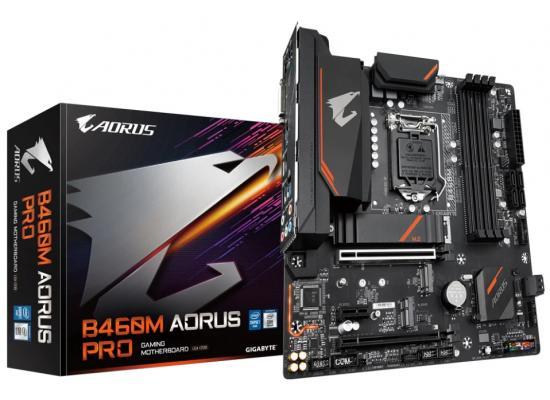 Gigabyte Intel B460M AORUS PRO Dual M.2 Slots Micro-ATX Motherboard