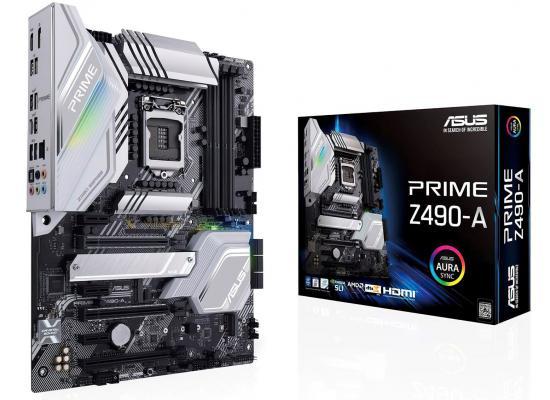 ASUS Prime Z490-A Intel Z490 Intel Dual M.2 Aura Sync RGB