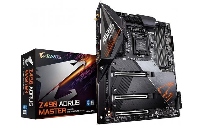 GIGABYTE Z490 AORUS Master Intel Z490 3x M.2 Thermal Guard & Wi-Fi