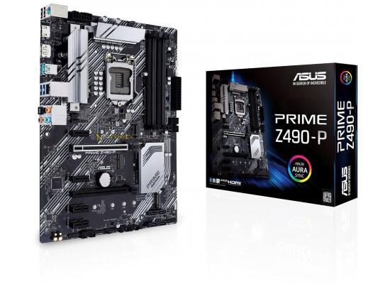 ASUS Prime Z490-P Intel Z490 Intel Dual M.2 Aura Sync RGB