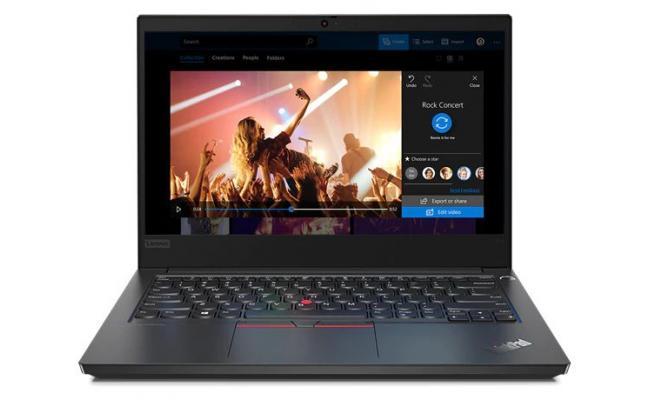 Lenovo ThinkPad Edge E14 Core i5 10Gen 4-Core Full HD - Black