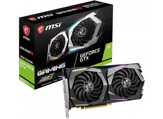 MSI NVIDIA GeForce GTX 1660 Ti GAMING 6G GDDR6