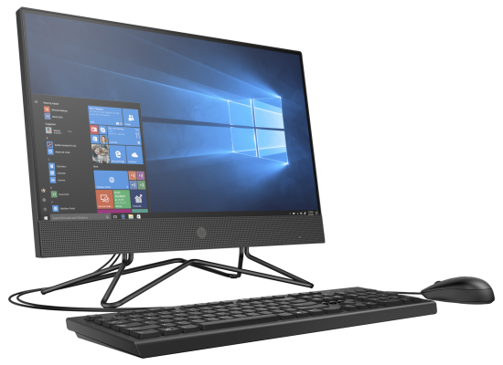 HP All-in-One 200 G4 10Gen Core i5 NON Touch - Black