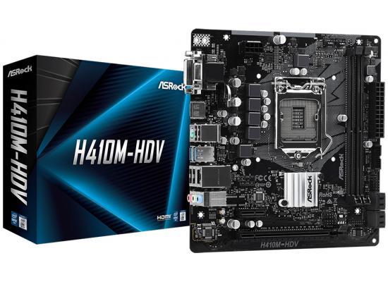 ASROCK H410M-HDV/M.2 Intel H410 LGA 1200 Motherboard