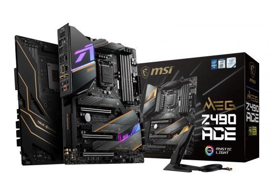 MSI MEG Z490 ACE Gaming Intel Z490 Triple M.2 Wi-Fi 6 Mystic Light RGB