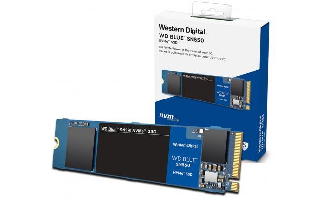 WD Blue SN550 NVMe M.2 2280 500GB PCI-Express 3.0 x4 3D NAND