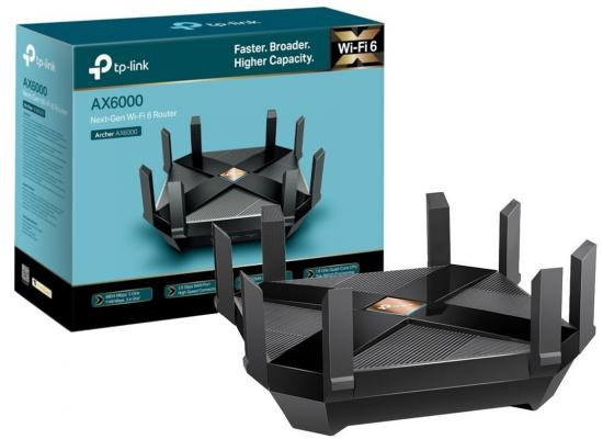 TP-Link AX6000 WiFi 6 Router8-Stream Smart WiFi Router 8 Ports