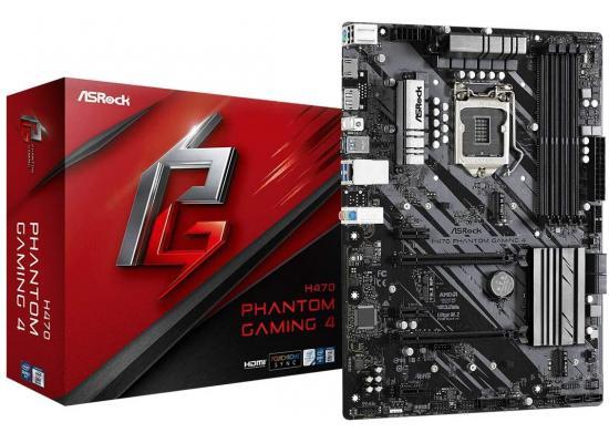 ASROCK H470 Phantom Gaming 4 Intel H470 Dual M.2 Mainboard