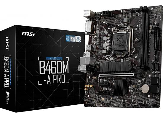 MSI B460M-A PRO ProSeries Intel B460 M.2 Mainboard