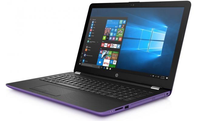 HP Laptop 15-da0125ne 8Gen Intel Core i3 - Purple