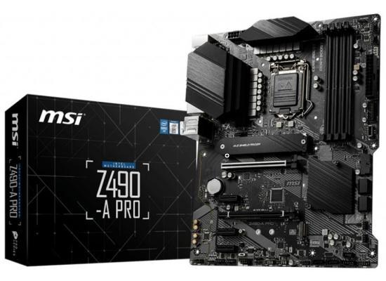 MSI Z490-A PRO ProSeries Intel Z490 Dual M.2 Slots ATX Mainboard