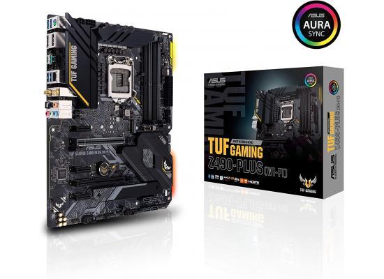 ASUS TUF Gaming Z490-Plus (WiFi 6) Dual M.2 Aura Sync