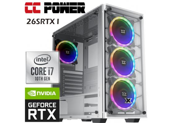 CC Power 26SRTX I Gaming PC 10Gen Core i7 w/ RTX 2060 SUPER