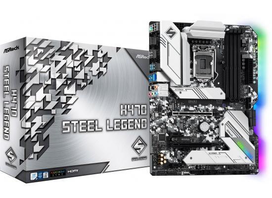 ASROCK H470 Steel Legend Intel H470 Gaming Motherboard