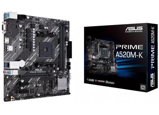 Asus PRIME A520M-K AMD A520 AM4 Micro ATX 2 DDR4 VGA HDMI M.2